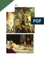Picturile Lui Titian