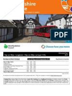Herefordshire Bus Guide