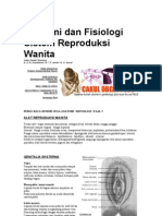 Anatomi Dan Fisiologi Sistim Reproduksi Wanita
