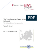 The Transformative Power of Europe Reloaded. The Limits of External Europeanization