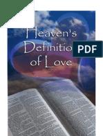 heavens definition of love