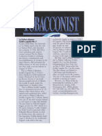 Tobacconist Article