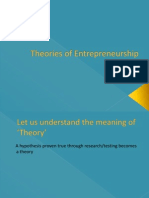 3 Theories of Entrepreneurship