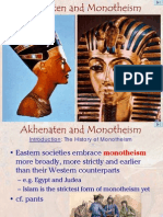 Akhenaten and Monotheism