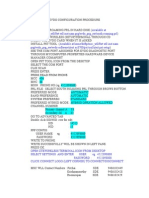 Evdo Configuration Procedure