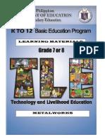 Ia- Metalworks Lm Grade 7 & 8 p&d