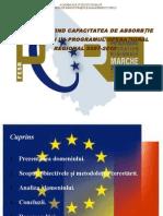 Studiu Privind Capacitatea de Absorbtie a Romaniei La Por 2007-2013