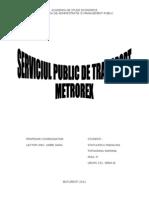 Serviciul Public METROREX2003