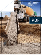 report on cement industry