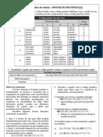 Leitura e análise de tabela Sintese proteinas 2