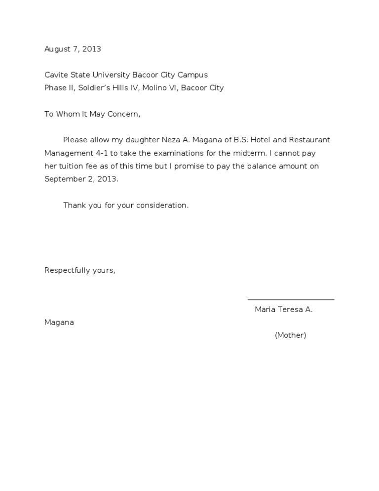 PROMISSORY NOTE SAMPLE – Promissory Letter Sample