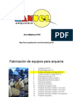 Arco Madera PVC