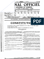 LA REPUBLIQUE DU CAMEROUN ORIGINAL CONSTITUTION MARCH 4, 1960.pdf