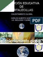 PRESENTACIÓN CALENTAMIENTO GLOBAL