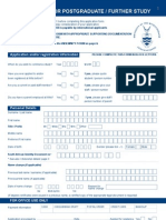 Application Form Wits