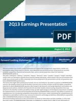 2Q13 Earnings Presentation