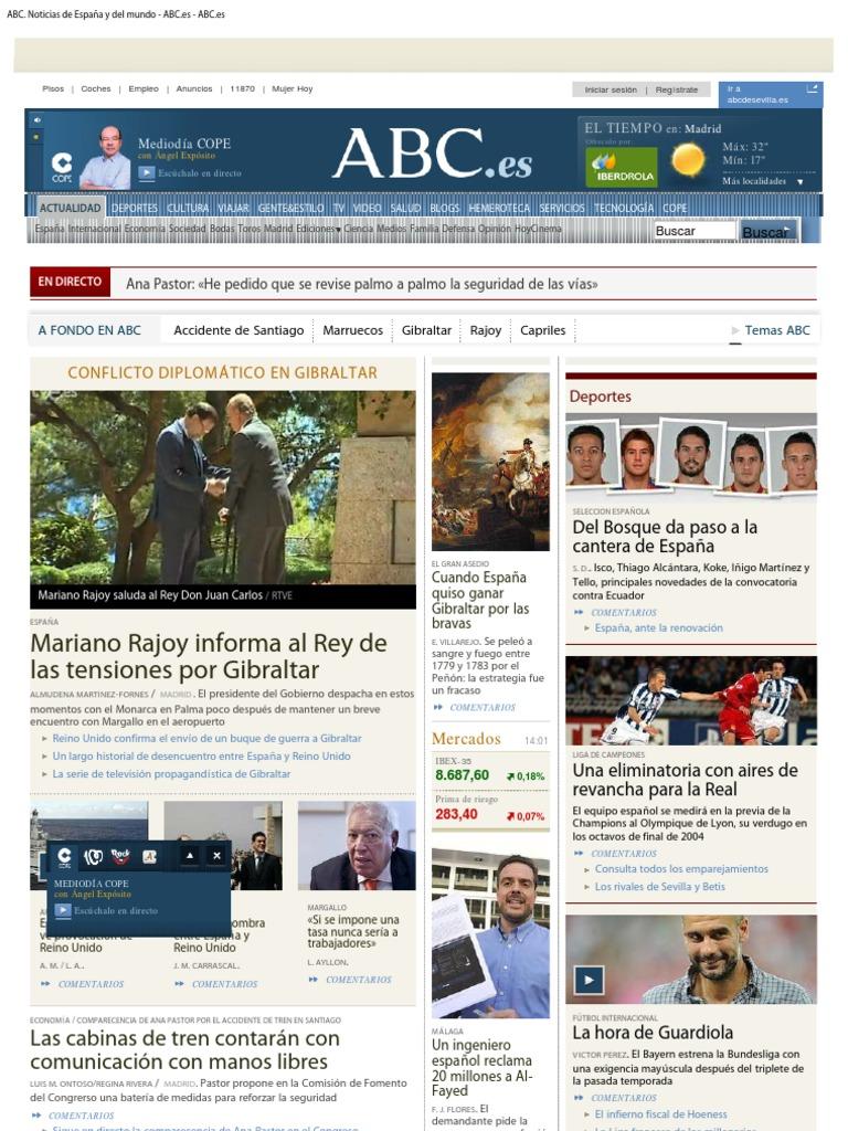 ABC Noticias De Espaa Y Del Mundo