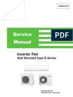 Daikin Splits (FTX-G) Service Manual