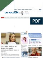 Portada - La Razón digital