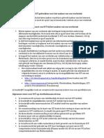 Startbekwaam bewijs – ICT gebruiken voor het maken van een werkstuk