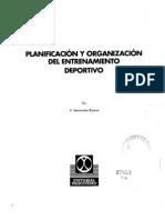 Planificacion y Organizacion Del Entrenamiento Deportivo