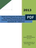Projeto Basico Modelo 2013