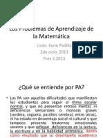 Pres 3,2013 ProbApren, Completa (Clase Del 20 y 27 Julio)