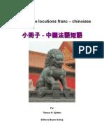Locutions français - chinois.