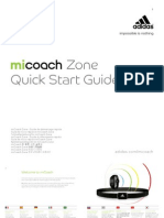 MiCoach Zone Quick Start Guidesa