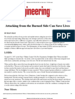 Attacking From the Burned Side Can Save Lives - Print This Page
