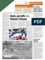 TheSun 2009-05-29 Page10 Bombs Gun Battle Rock Pakistans Peshawar