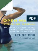 Open Water Swimming Manual by Lynne Cox - Excerpt