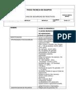 Ficha Tecnica Del Acido Clorhidrico