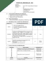 SESIÓN DE APRENDIZAJE 4toC 20130722 CL LE 22-26
