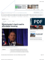 Westchester's Hard Road to Affordable Housing