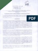 Decreto 197 de 2013