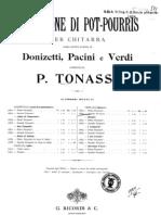 Tomassi, P._ Verdi, G., Nabucco Secondo Pot-Pourri ... Boije 519
