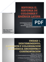 Unidad 1 Descubrimiento, conquista y colonización de América (avances)