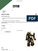 Flak (TF 2010) - Transformers Wiki