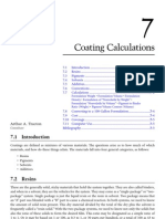 5. Coating Calculations