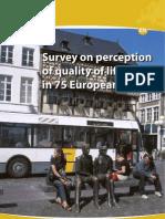 Survey2009 en 75Cidades