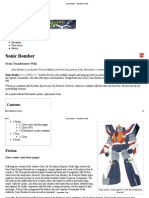Sonic Bomber - Transformers Wiki