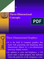 3D Display Methods - Mod -3