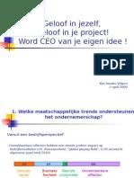 CEO Van Je Idee K. Vander Velpen