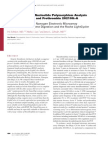 Diagnostic Single Nucleotide Polymorphism Analysis of factor V Leiden and prothrombin 20210G>A