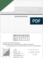 Trigonometria No Triangulo Retangulo