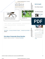 GoI Plans Corporate Seva Kendra - _ the Calibre