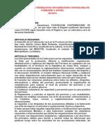 FECOPA NUEVOS ESTATUTOS 2013-14