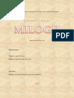 MILOGII  (teatru pentru adolescenti)