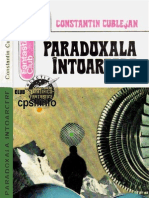 Constantin Cublesan - Paradoxala Intoarcere [1978]